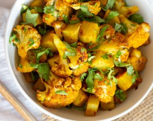 Cauliflower indian spiced
