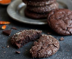 Chocolate Cayenne Cookies Dessert