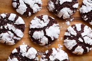 Chocolate Crinkles Cookies Dessert