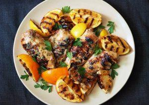 Citrus - grilled chicken