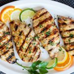 Citrus - grilled chicken
