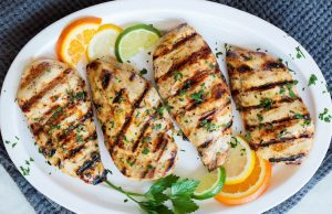 Citrus – grilled chicken