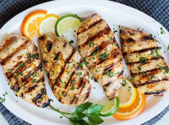 Citrus – grilled chicken