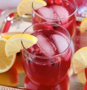 Cranberry punch