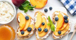 Healthy cheese spread