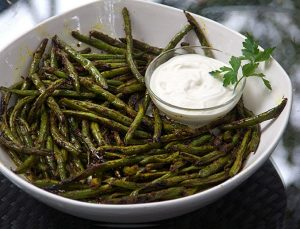 Indonesian green spiced beans