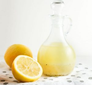 Lemon citrus dressing