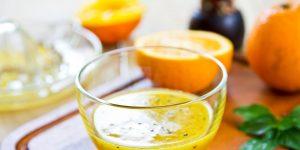 Lemon citrus dressing