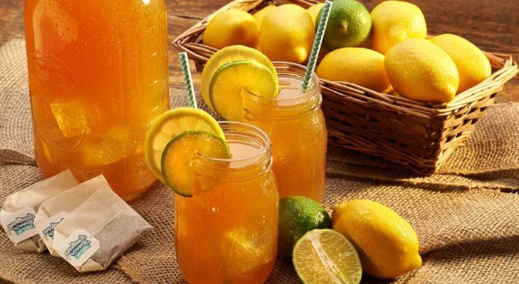 Lemon lime tea