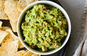 Mexican style guacamole