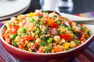 Moroccan-style spicy couscous