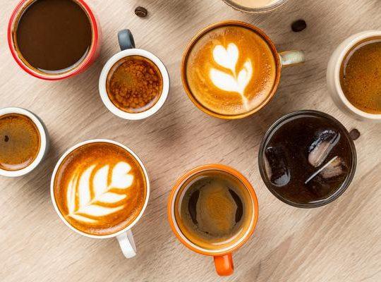 Orange coffee delight