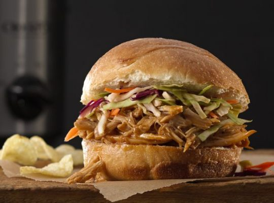 Oriental chicken sandwiches