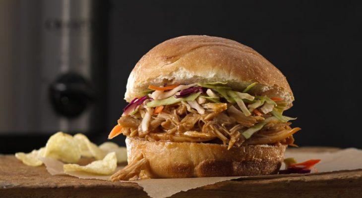 Oriental chicken sandwiches