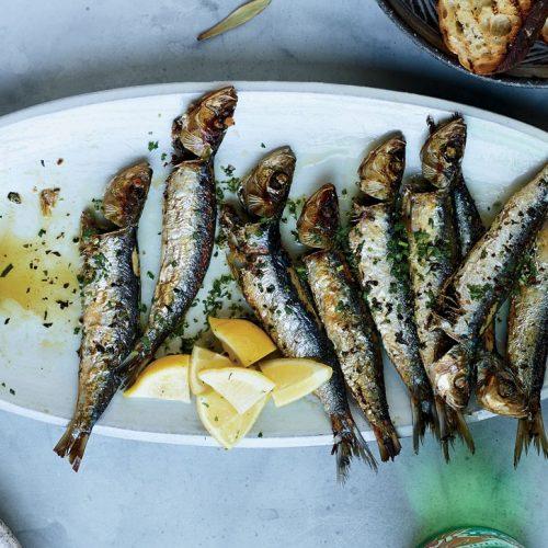 Parsley Wined Sardines