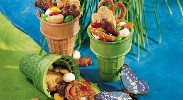 Party snacks with a crunch