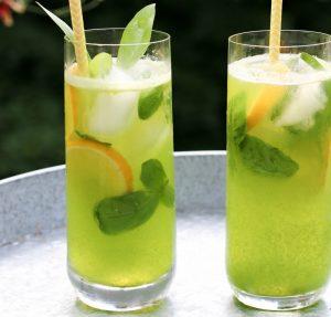 Sweet Basil Lemonade