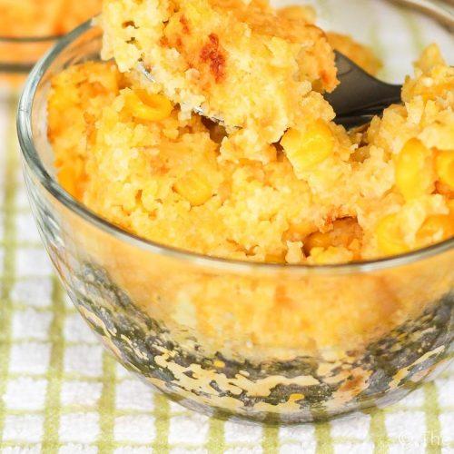 Sweet Corn Pudding Dessert