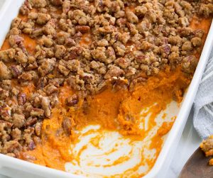 Sweet Potato Souffle Dessert