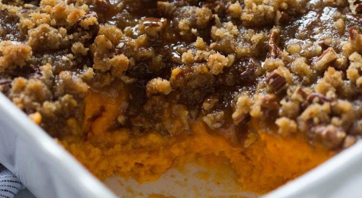 Sweet Potato Souffle Dessert
