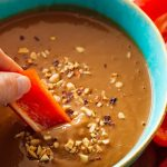 Thai honey peanut dip