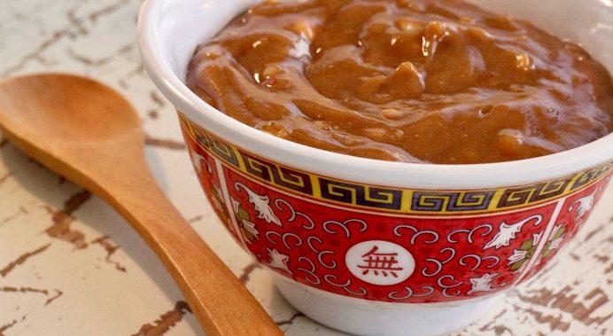 Thai honey peanut dip