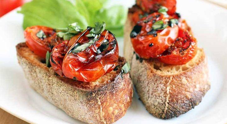 Tomato Crostini Dessert