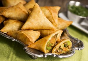Vegetable Samosa Dessert