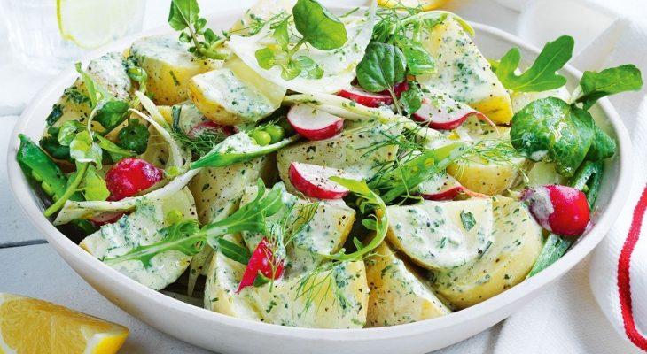 Watercress Dressing for Potato & Green Salad