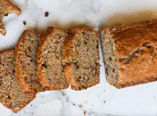 Zucchini Bread Dessert
