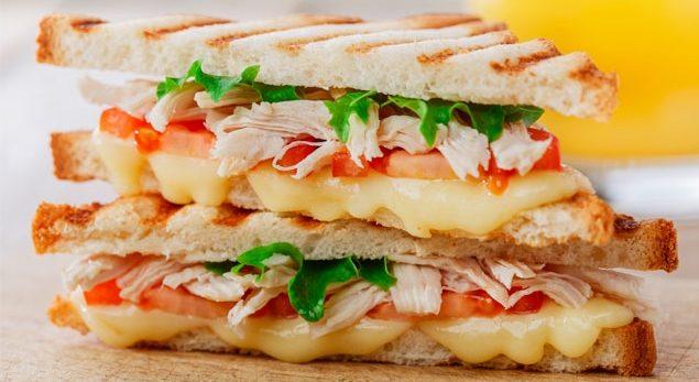 Fancy sandwich